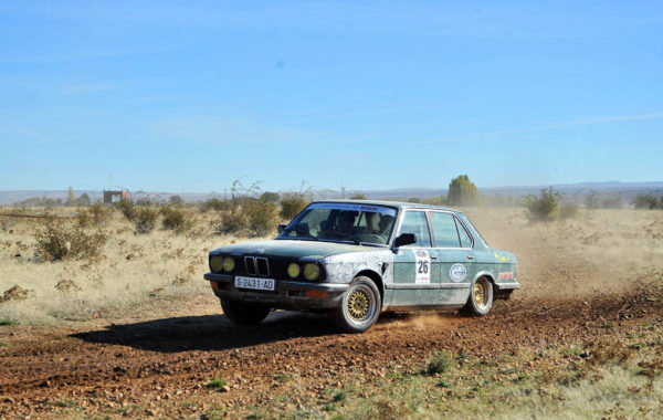 BMW tracción trasera en un circuito