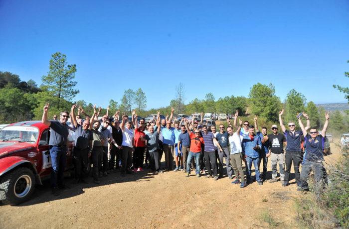 Grupo de participantes en Extremadura