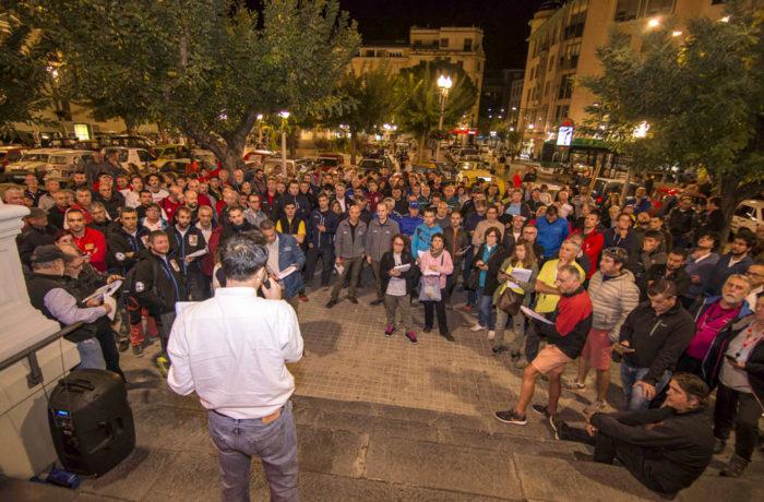 Final de etapa en Huesca